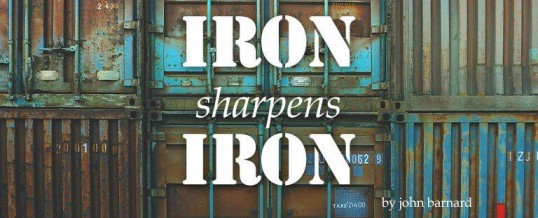 Iron Sharpens Iron: mens group